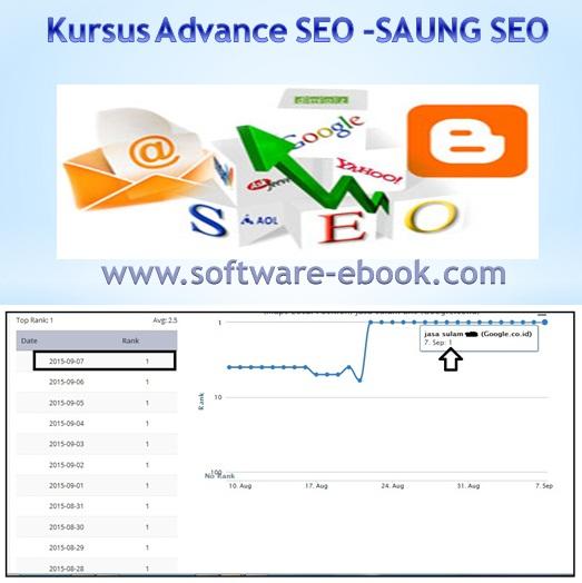 Kursus Advance SEO-Saung Seo - a