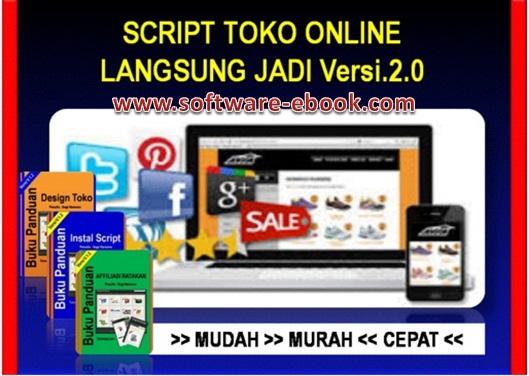Script Toko Online Lansung Jadi V2 (PLR)-a