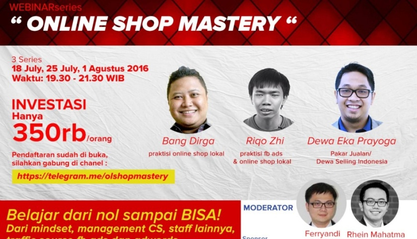 Online Shop Mastery